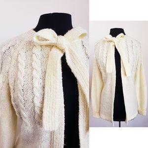 Vintage Pussbow cardigan sweater